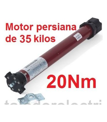 Motor persiana 45mm 20Nm para 35kilos