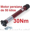 Motor tubular 45mm 30Nm para 50 kilos