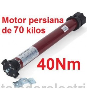 Motor persiana 45mm 40Nm para 70 kilos