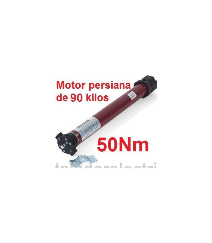 Motor tubular 45mm 50Nm para 90 kilos