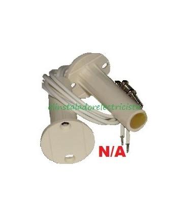 (5 unidades) Interruptor magnético empotrable taladro N/A  Ø 9,4mm