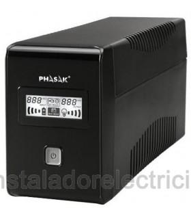 SAI PHASAK LCD USB+RJ 850 VA