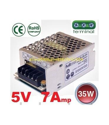 Fuente de alimentación 5V.  7Amp. FUS-35-5