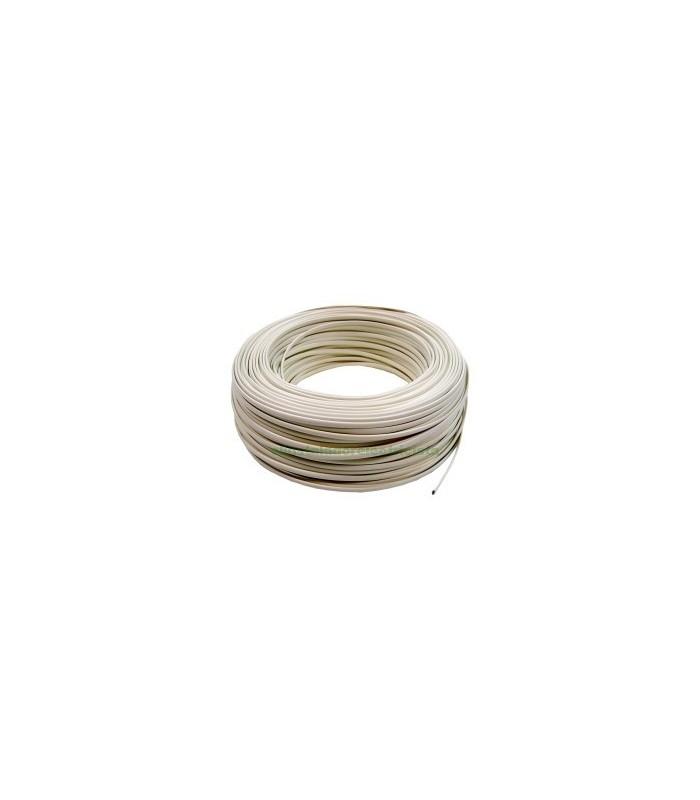 Cable Telefónico 2 hilos 250 metros color marfil