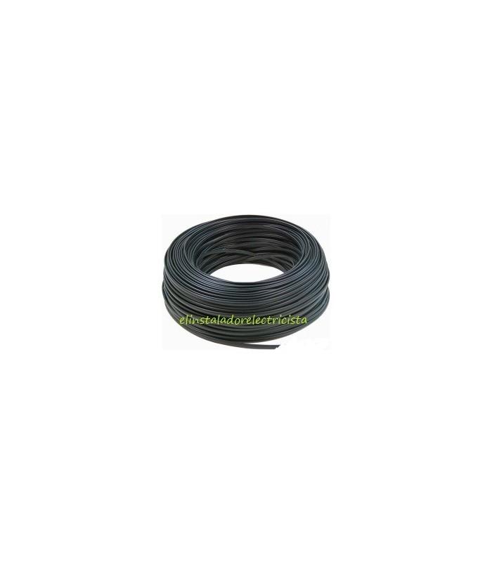 Cable telefónico  hilos 100 metros color negro