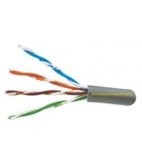 Cable UTP flexible  para transmisión de datos cat5e