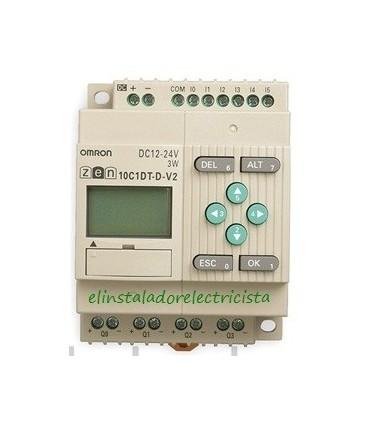 10C1DT-D-V2 Zen Omron Sal. TRT LCD RTC 24 DC