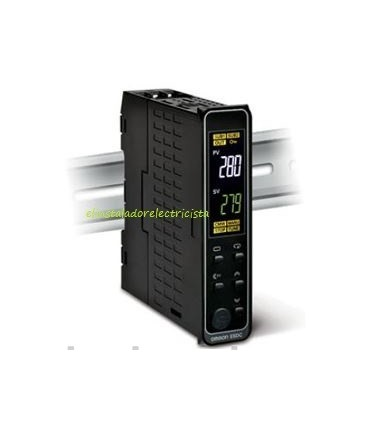 Controlador Temperatura E5DC-CX0ASM-015 Omron rail din
