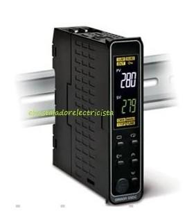 Controlador temperatura E5DC-CX2DSM-000 Omron rail din