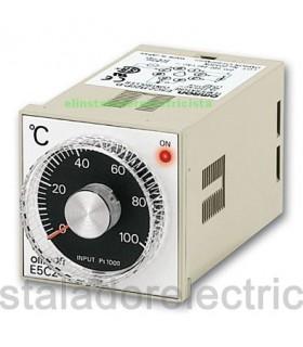Controlador temperatura Analógico Omron E5C2-R20P-D 110/240AC 0º 300º