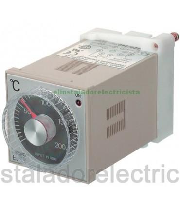Controlador temperatura Analógico Omron E5C2-R20P-D 110/240AC 0º 200º