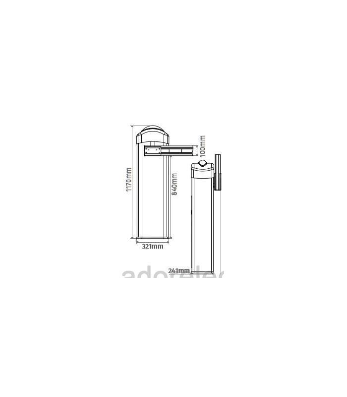 Kit Barrera electromecánica 230V hasta 6m