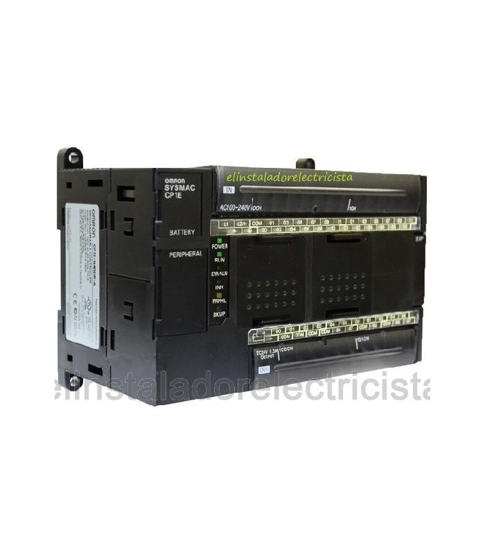 Plc Compacto CP1E-N60DR-A CPU Omron