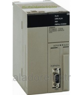 Plc CPU 1280 E/S 30KW 64KW Datos RS232C CS1G-CPU44H Omron