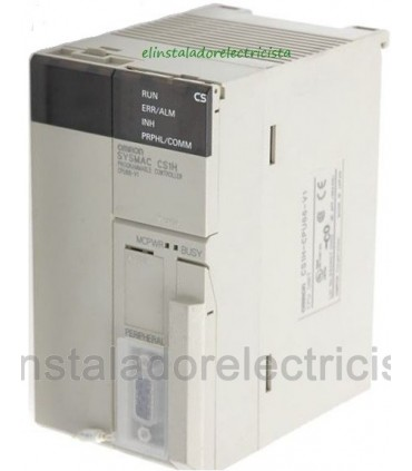 Plc CPU 5120 E/S 250KW 448KW Datos RS232C CS1H-CPU67H Omron