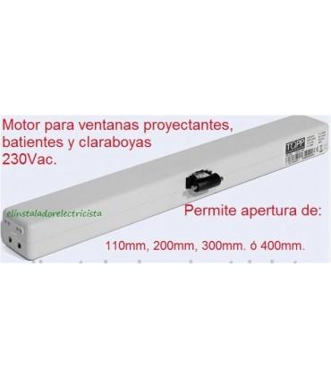 Motor para Ventana y Claraboya oscilante 230V.