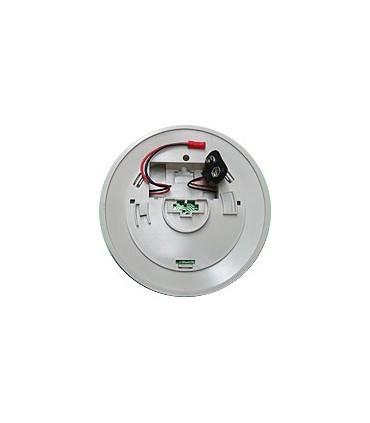 Detector de Humo con alarma acústica relé na pulso 4seg.
