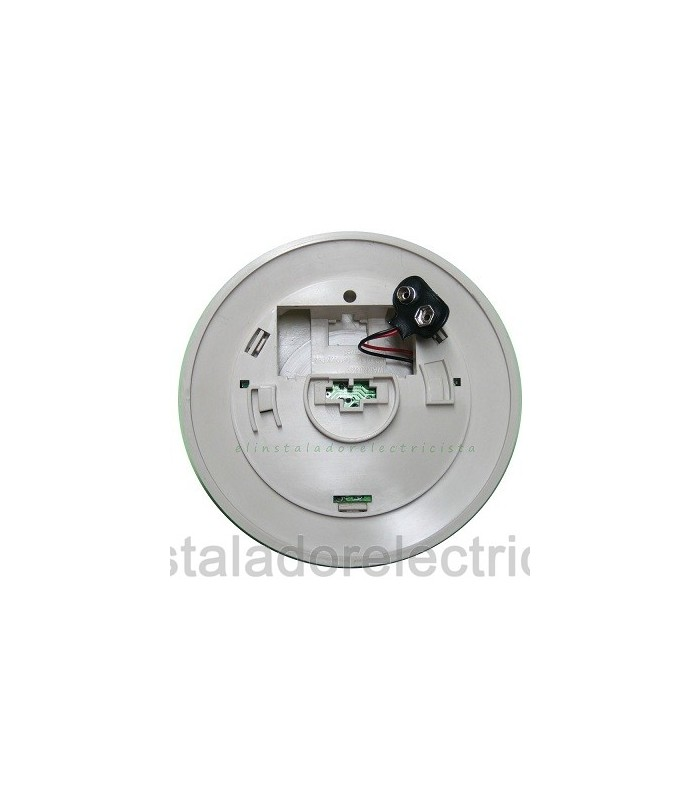 Detector óptico de humo autónomo con alarma acústica alim. pila 9v.
