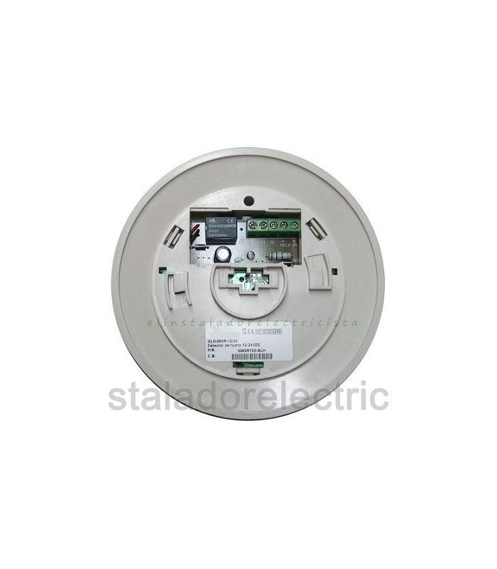 Detector de Monóxido de carbono c/alarma acústica sal. relé c/n a/n c. 12A 24VDC