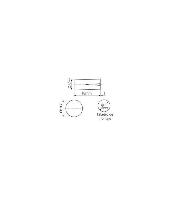 Contacto Magnético miniatura empotrable puertas, ventanas (5 unidades)