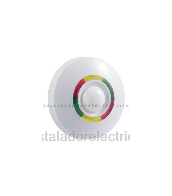 Detector de movimiento interior techo 360º  doble tecnología + micro-ondas