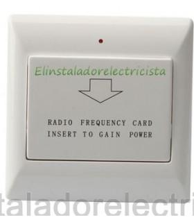 interruptor por Tarjetas Chip para control de energía