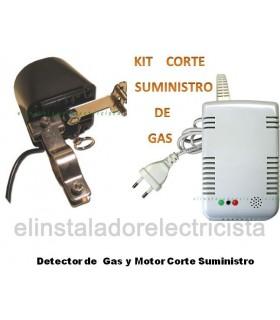 Kit Corte Suministro de Gas