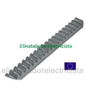 Cremallera zincada CRM2 22x22x2000 mm