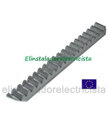 Cremallera 2m. zincada CRM2 22x22x2000mm