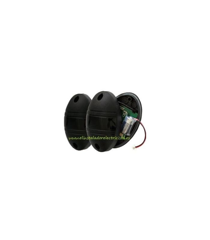 Fotocélula Receptor 12/24Vac-dc y Transmisor a batería 3,6VDC