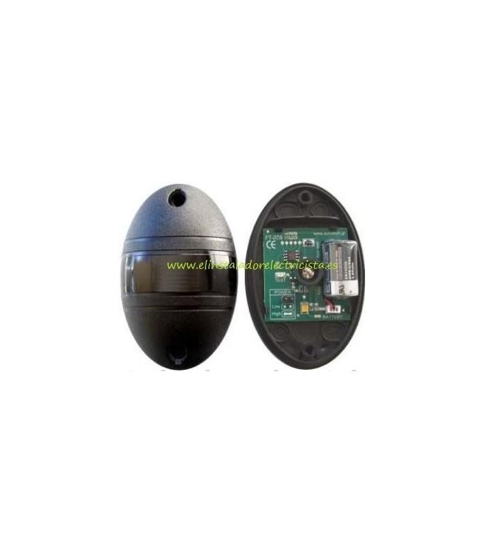 Fotocélula Receptor 12/24Vac DC Transmisor batería de 3,6VDC