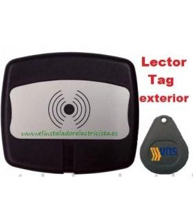 Lector control de accesos por Tag para exterior