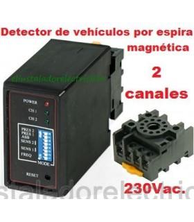 MD100 Detector magnético de vehículos