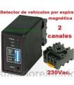 MD100 Detector magnético de vehículos 2 canales