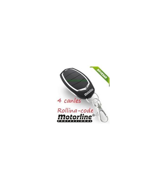 Mando 4 canales Rolling Code 433Hhz Motorline