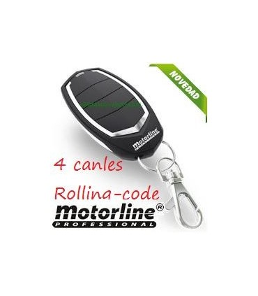 Mando 4 canales Falk Rolling Code 433Hhz Motorline