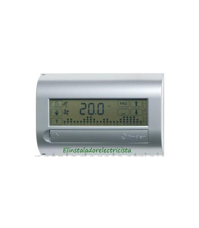 Cronotermostatos digitales pantalla táctil-antracita Finder 1C.71.9.003.2107