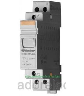 Telerruptor modular FINDER 16 A 2 contactos N/A