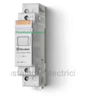 Contactor modular FINDER 1 NA  22.21.8.240.0000