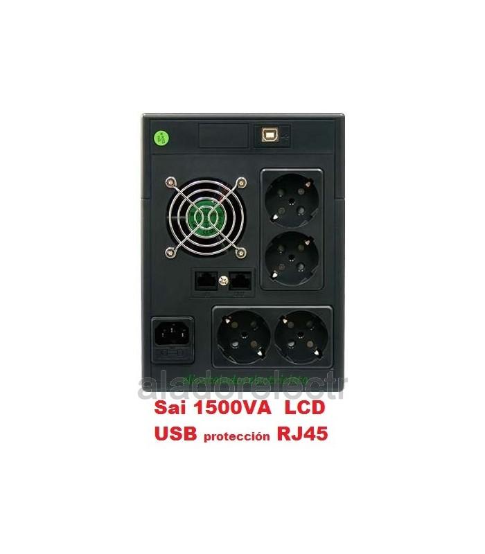 S.A.I. PHASAK 1500 VA LCD USB+RJ