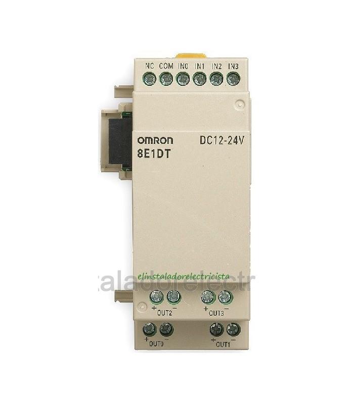 ZEN-8E1DT Expansor 4 Entradas DC/ 4 Salidas TRT Omron