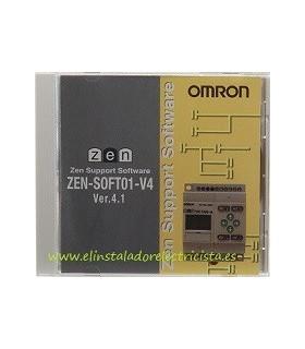 Software del ZEN versión 4.0 Omron ZEN-SOFT01-V4