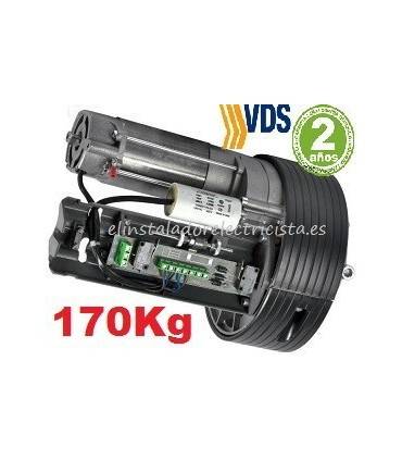 Motor Roll 240/170kg para puertas enrollables eje 76mm