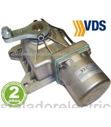 Motor 230V soterrado puerta batiente 2,5m y 500kg UNDER V  VDS