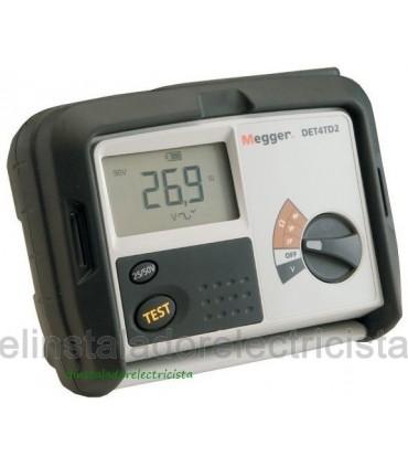 DET4TD2 Telurómetro digital 2, 3 y 4 picas Megger