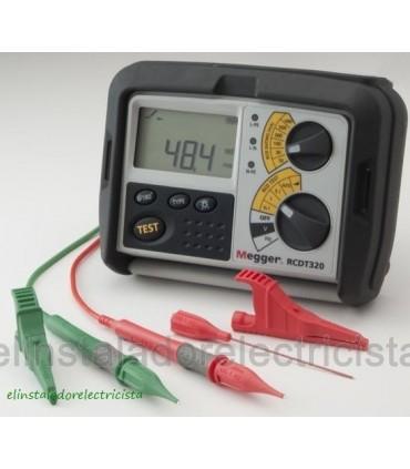 RCDT320 Comprobador de Diferenciales 10 a 1000mA