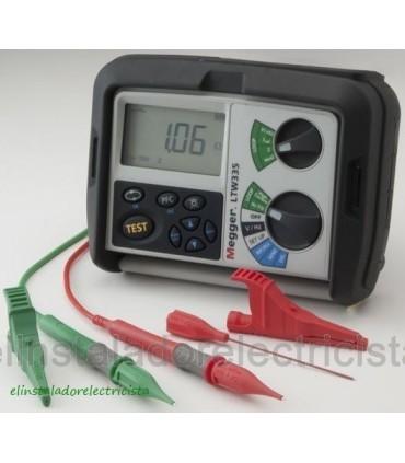 Medidor de Impedancia de Bucle y CC con/sin desconexión USB LTW335
