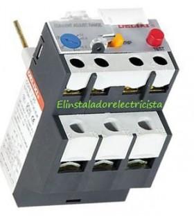 Relé Térmico Electrónico 25A ajuste 0,1~0,2A