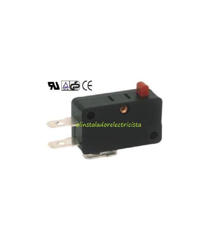 Microinterruptor 6A UL sin palanca (Pack 25 unidades)