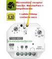Micromódulo receptor Función Marcha/Paro + temporización 1salida contacto seco 10A TYXIA 4801
